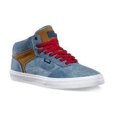 release date 114fd ecbf5 VANS Bedford (Tye Dye Denim) BlueBrown OTW Skate Shoes MENS 6.5 WOMENS