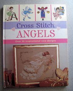 Cross Stitch Angels Over 30 Inspirational new by grammysyarngarden, $7.00