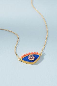Slide View: 2: Evil Eye Pendant Necklace