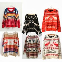 Christmas Sweaters, if someone buys me one I'll love them forever