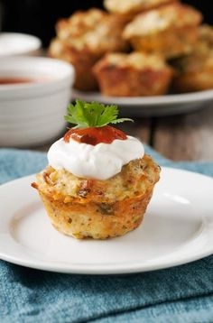 Gluten-Free Mexican Mini Quiches | 23 Healthy And Easy Breakfasts Your Kids Will Love