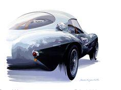 "Hideki Yoshida ""Ferrari Uovo"". #japan #artist #ferrari #reflect #mecanicart #galeriemecanica #hidekiyoshida"