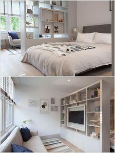 10 Ideas for Room Dividers in a Studio Apartment 1 #smallroomdesignstudioapt