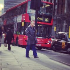 Morrissey in London in 2013 by ajohnarnold on IG.