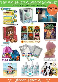 The Kidtastically Awesome Giveaway! ow.ly/K6nS306ydwq