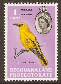 Bechuanaland 1961 1c. Bird Definitive Stamp. SG168.