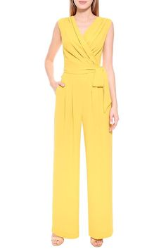 Casual Jumpsuit, Jumpsuit Dress, Slacks For Women, Clothes For Women, Ladies Night Outfit, Inverted Triangle Outfits, Fashion Terms, Scarf Dress, Jumpsuit Pattern