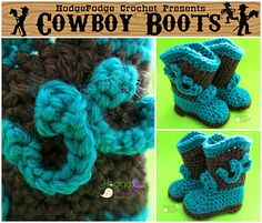 Meet the Revamped Cowboy Boot!! Originally blogged about in February, 2012, this cutie bootie has gone through a thorough revision to bring it into 2015 with an update to the layout and a new printer friendly version has been added to the end!