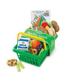 Have fun packing and enjoying a pretend nutritious meal with this Learning Resources Pretend & Play Healthy Lunch Set. Full of healthy meal options, this play set helps kids make nutritious lunch choices with realistic play food. Healthy Sweet Snacks, Nutritious Snacks, Healthy Breakfasts, Healthy Food, Healthy Meals, Healthy Eating, Gourmet Recipes, Dog Food Recipes, Healthy Recipes