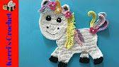 Learn how to crochet this unicorn at Kerri's Crochet.