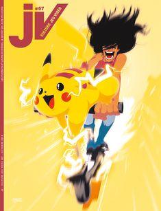 JV#67 - Octobre 2019 (abonné) Bart Simpson, Illustrations, Pikachu, Fictional Characters, Illustration, Fantasy Characters, Illustrators