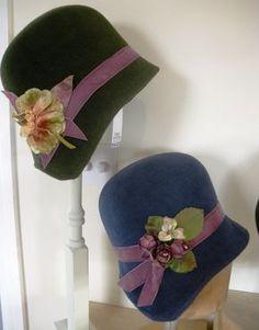 ead93fd4 Daisy Darling - Fabulous cloche hats Wig Hat, Cute Hats, Fancy Hats, Hat