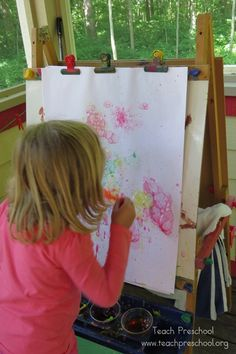 Bubble Painting by Teach Preschool