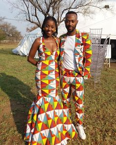 Image may contain: 2 people, people standing and outdoor African Fashion, African Beauty, Running Belt, Free Day, Fitness Gifts, Sport Socks, Happy Socks, African Attire, Traditional Wedding