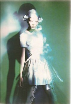 Freja Beha Erichsen photographed by Paolo Roversi - Vogue Italia: February 2007 - All That Shine