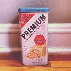 Vintage 1969 Nabisco Premium Saltine Cracker by PickledFurniture, $6.00