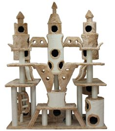 My kitties would love me forever if I got this for them! Extra Large Huge Cat Tree, Large Cat Condo, Large Cat Furniture and like OMG! get some yourself some pawtastic adorable cat shirts, cat socks, and other cat apparel by tapping the pin! Crazy Cat Lady, Crazy Cats, Diy Pour Chien, Cat Castle, Tower Castle, Large Cat Tree, Huge Cat, Cat Towers, Fancy Cats