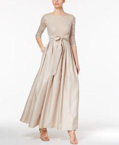 Jessica Howard Lace A-Line Gown Macys Wedding Dresses 1e2cf130f406