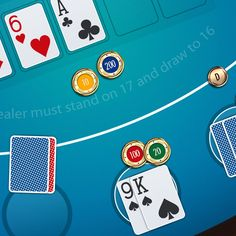 Casino Card Game GUI on Behance