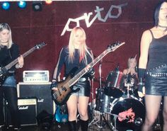 Sasha & Sonja formed @hellcats.si in 2003 when we started rehearsing together BUT the very first gig was on 6.6.2006 in Orto Bar, Ljubljana, Slovenia. Our first team, Nina, Sasha, Sonja, Mojca & Majda🤘🤘🤘
