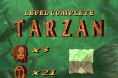 Download Sourcing : Download TARZAN WINDOWS (Тарзан) Tarzan Of The Apes, Donkey Kong Country, Great Novels, The Donkey, Vertigo, Disney Animation, Disney Movies, Games To Play, Told You So