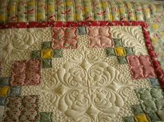 Love the quilting..