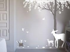Magical Wood Wall Sticker, Bambizi
