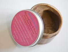 Mahogany Naturals- Rhassoul ,Cocoa & Honey Deep Hair Treatment