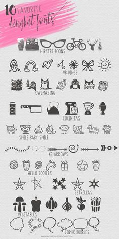 mom font There are so many fun dingbat fonts available, you can find them in just about every theme. Dont miss any of these 10 favorite Dingbat Fonts! Doodle Fonts, Doodle Art, Doodle Tattoo, Design Blog, E Design, Graphic Design, Lettering Styles, Hand Lettering, Decorative Lettering