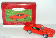 Hallmark 1969 Pontiac GTO ~ The Judge Classic American Cars Series Number 10