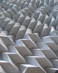 Geometric paper folding