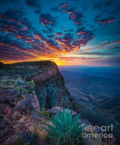#Dawn In The Chisos Big Bend National Park, #Texas by Inge Johnsson