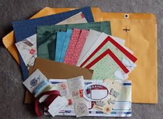 Travel Journal Tutorial. Uses large manila envelopes folded in half for pages, and envelopes with card stock inside for covers... Very nifty.