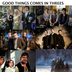 Don't forget Percy, annabeth and grover plus Thomas Minho and Newt
