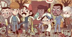 the walking dead by Bisparulz.deviantart.com on @deviantART