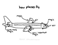 Detailed Explanation Of Why Planes Fly