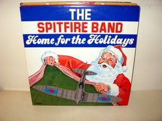 Spitfire Band, The - Home for the Holidays CANADA 1982 Lp mint-- Military Jazz