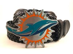 Miami Dolphins Buckle and Belt