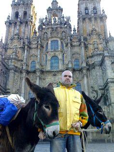 """Camino de Santiago.  Cortesía de """"El burro peregrino"""", Zamora (España)."""