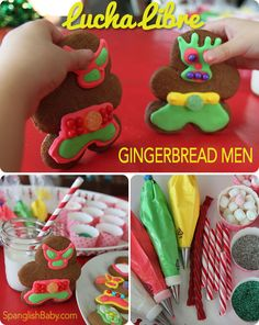 Gingerbread men are so much fun to make because the decorating possibilities are endless. Sure, you could always make a traditional gingerbread man, who is ra