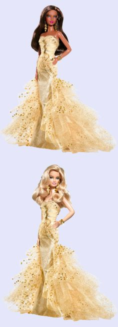 50th Anniversary Barbie® Doll 2009 Barbie Gowns, Barbie Clothes, Barbie Doll, African Fashion Designers, 50th Anniversary, Beautiful Dolls, Fascinator, Fashion Dolls, Nostalgia