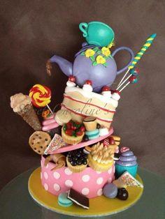 Tea and cake cake!