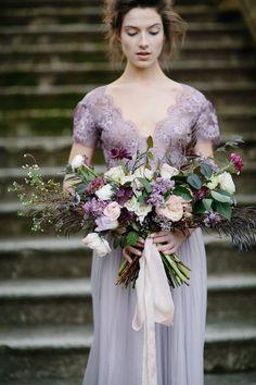 2019 Brides Favorite Purple Wedding Colors---wedding bouquet for spring and summer garden weddings Purple Wedding Bouquets, Purple Bridesmaid Dresses, Bride Bouquets, Floral Wedding, Wedding Colors, Wedding Styles, Greenery Bouquets, Berry Wedding, Bouquet Flowers