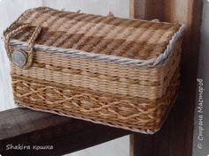 Поделка изделие Плетение Старое и новое Трубочки бумажные фото 2
