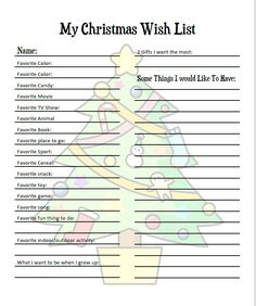 Christmas wish list christmas gift ideas