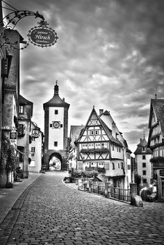 Rothenburg ob der Tauber by Alonzo Wright on 500px