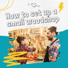 Learn how you can set up a complete woodshop without spending an arm and a leg. Easy Diy Crafts, Fall Crafts, Crafts For Kids, Diy Projects To Sell, Workshop Storage, Goal Quotes, Let's Have Fun, Free Facebook, Motivation Goals