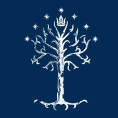 White Tree of Gondor with the 7 Stars and crown of the King