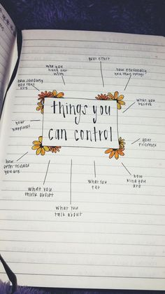 things you can control being content