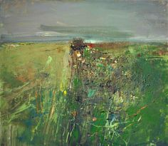 "bofransson: ""Joan Kathleen Harding Eardley, R.S.A. (1921-1963) Between the Fields of Barley, Catterline """